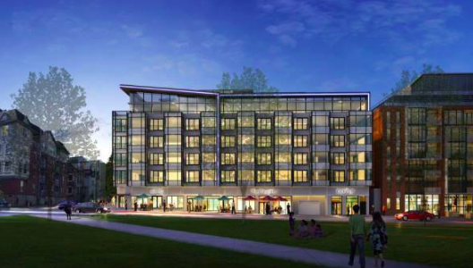 The proposed designs from Paul Skerry architects and Principal Developments. - VIA AGBANS