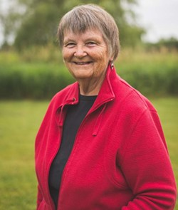 """At 75, Nancy Brister is still getting accustomed to being called an """"elder"""" in the LGBT community. - DYLAN CHEW"""