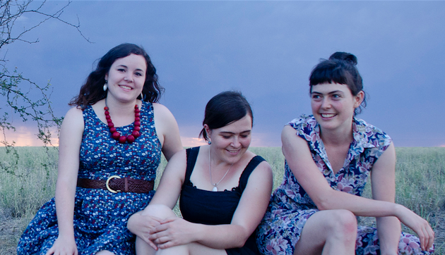 The Mae Trio travelled all the way from Australia to bring their sweet, folky sound to The Carleton Music Bar & Grill this Saturday (see 4). - KATE ATKINSON
