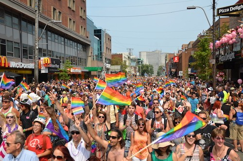 Get ready for Pride Parade! (see 1). - DYLAN WHITE