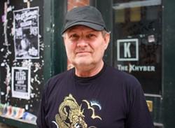 Reg Giles stands in front of the Khyber on Barrington Street. - SAM KEANE