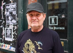 Reg Giles stands in front of the Khyber on Barrington Street. - SAM KEANE