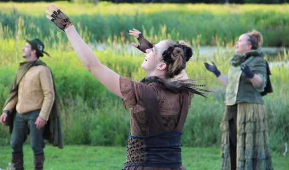 Last year's production of The Tempest was one of many triumphs for Two Planks.