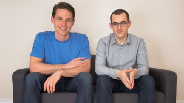 The cofounders of Tap want to say goodbye to plastic bottles. - SUBMITTED