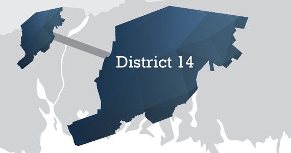 District 14 includes the communities of Lucasville, Beaver Bank, Middle and Upper Sackville, and a northwest portion of Hammonds Plains. Click here for HRM's boundary description. - AKIRA ARRUDA