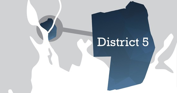 The old City of Dartmouth is contained within District 5, bounded within Albro Lake Road and the Circumferential Highway. Click here for HRM's boundary description. - AKIRA ARRUDA