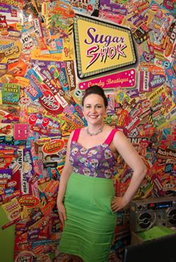 Sugar Shok's Stacey Cayea - ALLISON SAUNDERS