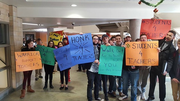 Halifax West students ready to rally - VIA FACEBOOK