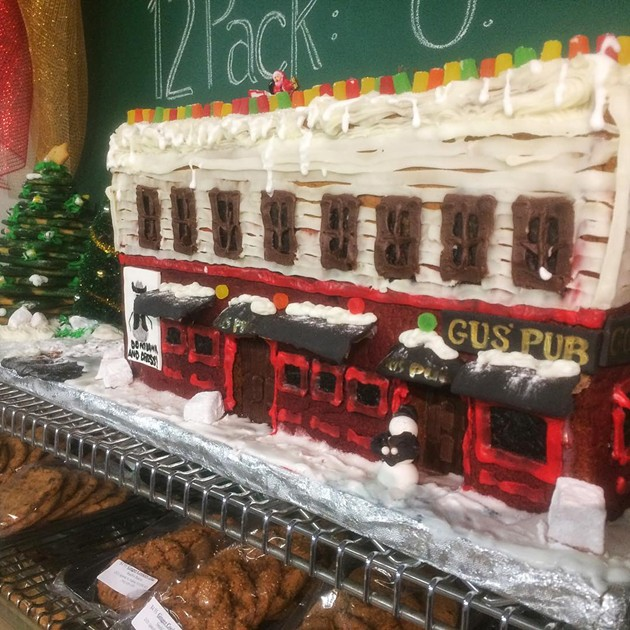 Lindsey Vidito is the artist behind this gingerbread creation. - VIA INSTAGRAM