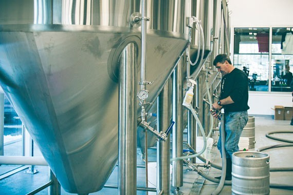 Nine Locks Brewery - LENNY MULLINS