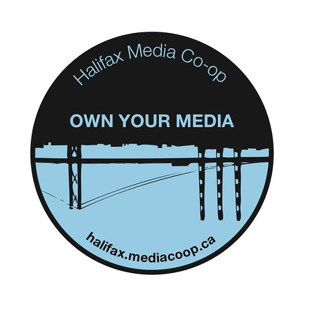 """News from Nova Scotia's grassroots"" was the Halifax Media Co-op motto. - VIA BEN SICHEL"