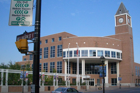 Brampton's City Hall, and the secrets contained therein. - COURTESY OF SA 3.1 ON WIKIPEDIA