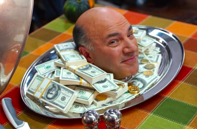 Kevin O'Leary will be one of 13 entrepreneurs pitching themselves to investors. - VIA CANDIDATE'S TWITTER