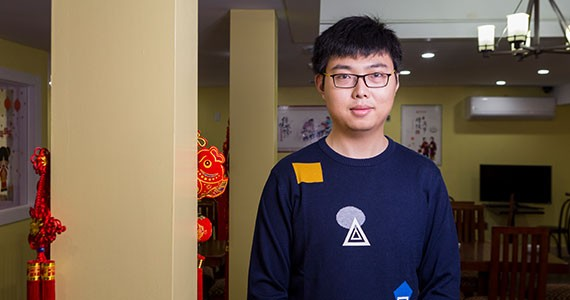 Leon Qiu likes having conversations about Chinese food as much as he likes serving it. - RACHEL MCGRATH