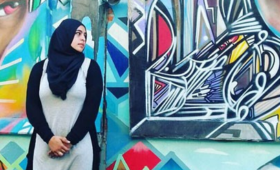 Masuma Khan, president of the Dalhousie Muslim Student Association. - SUBMITTED