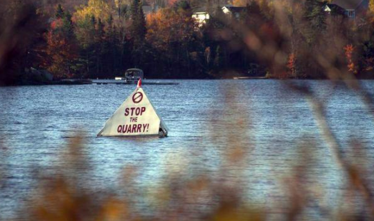 FROM STOP THE FALL RIVER QUARRY