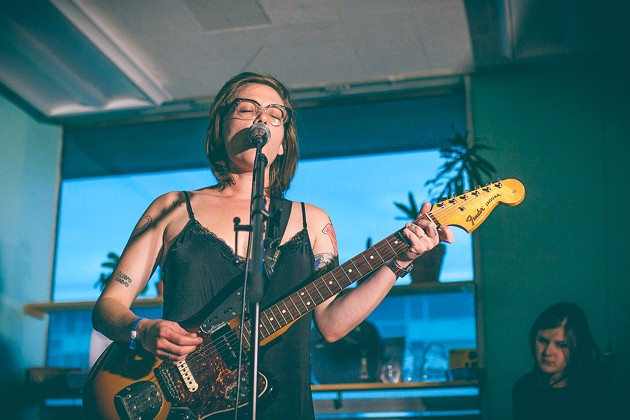 Vulva Culture's Amy Vinnedge, pictured here at the 2015 Halifax Pop Explosion. - LENNY MULLINS