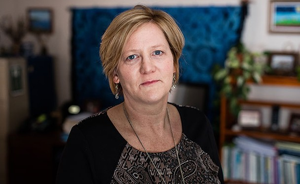 Susan Wilson works with the Avalon Sexual Assault Centre. - RILEY SMITH