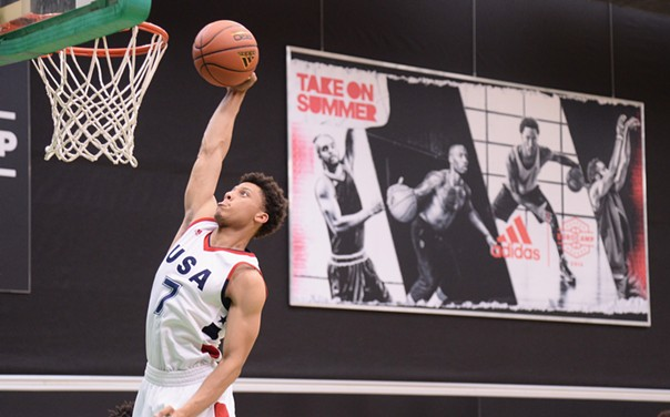 Lindell Wigginton will be shooting for the stars this weekend in Portland, Oregon for the elite Nike Hoop Summit. - VIA ADIDAS