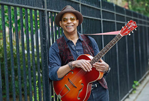 Blues legend Guy Davis brings his finger-picking guitar style to Halifax (see 1). - JOSEPH A. ROSEN PHOTO
