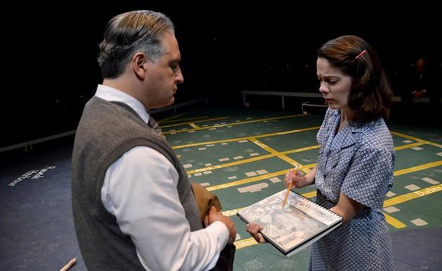 Theo Pitsiavas and Gina Thornhill in Pugwash at Ship's Company Theatre in Parrsboro. - CLARE WAQUE