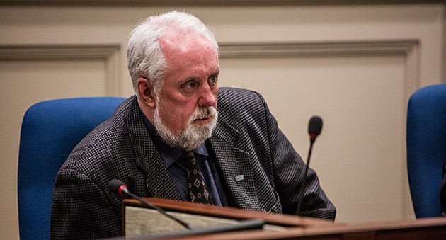 Preston–Chezzetcook–Eastern Shore councillor David Hendsbee, pictured inside City Hall. - RILEY SMITH
