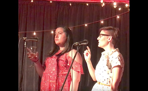 The off-Broadway show Stop Kiss comes to Halifax. - VIA WHALE SONG THEATRE YOUTUBE