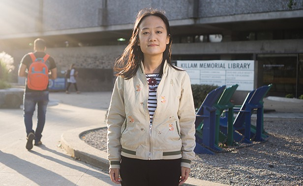 Yuxi Tang is hopeful she can find work in Halifax. - IAN SELIG