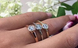 A sparkling trio at Trinity Jewellers. - SUBMITTED PHOTO