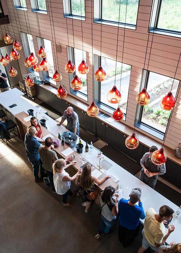 Lightfoot & Wolfville's bright, beautiful tasting room - JESSICA EMIN
