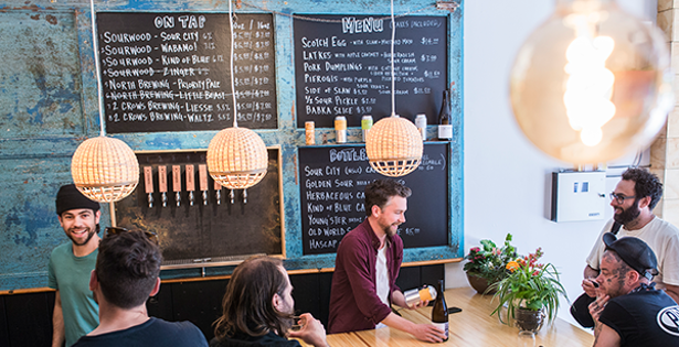 FIRST LOOK: Sourwood Cider's funky little bar