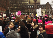 Marking the anniversary of the Halifax Women's March