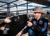 Bull-riding event draws animal welfare protest
