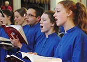 The King's Chapel Choir's heavy splash of eternal
