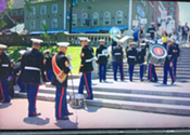 UPDATED: False outrage over this past weekend's Marine Band protest