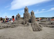 Enter sandcastle: celebrating 40 years of Clam Harbour's annual competition