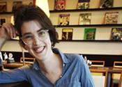 Katharine Vingoe-Cram's comic relief