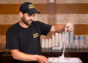 Where I work: Booza Emessa ice cream shop