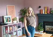 My favourite room: Maia LaPierre's TV-free living room