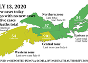 Just the news on COVID-19 in Nova Scotia, for the week starting July 13