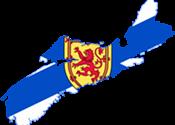 What are Nova Scotia's top exports?