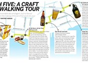 High five: a craft beer walking tour