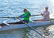 Breaking waves with the Halifax Rowing Club