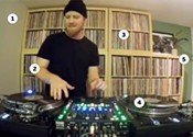 A look inside Skratch Bastid's studio