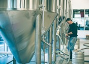 Locks and load: adventures with Dartmouth's new brewery