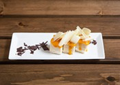 White Chocolate and Mango Crepe Torte