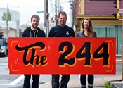 The 244's block party