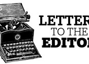 Letters to the editor, September 1, 2016
