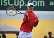 Canada trying to cool hot Chile in Davis Cup Tennis