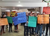 Hundreds of Nova Scotian students walk out in support of teachers